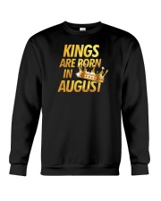 Kings Are Born in August Crewneck Sweatshirt thumbnail