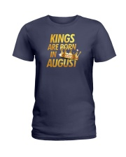 Kings Are Born in August Ladies T-Shirt thumbnail