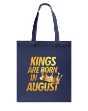 Kings Are Born in August Tote Bag thumbnail