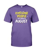 Awesome People Are Born In August Premium Fit Mens Tee thumbnail