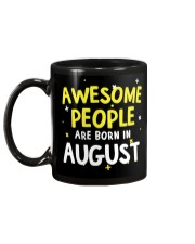 Awesome People Are Born In August Mug back
