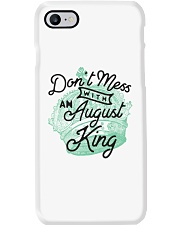 Don't Mess With a August King Phone Case tile