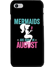 Mermaids Are Born in August Phone Case thumbnail