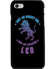 August Girl an Amazing Leo Phone Case thumbnail