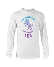 August Girl an Amazing Leo Long Sleeve Tee thumbnail