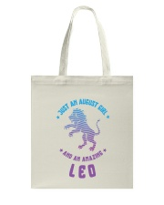 August Girl an Amazing Leo Tote Bag thumbnail