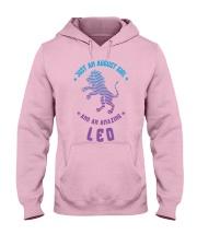 August Girl an Amazing Leo Hooded Sweatshirt thumbnail