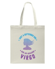 August Girl an Amazing Virgo Tote Bag back