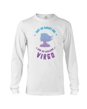 August Girl an Amazing Virgo Long Sleeve Tee thumbnail