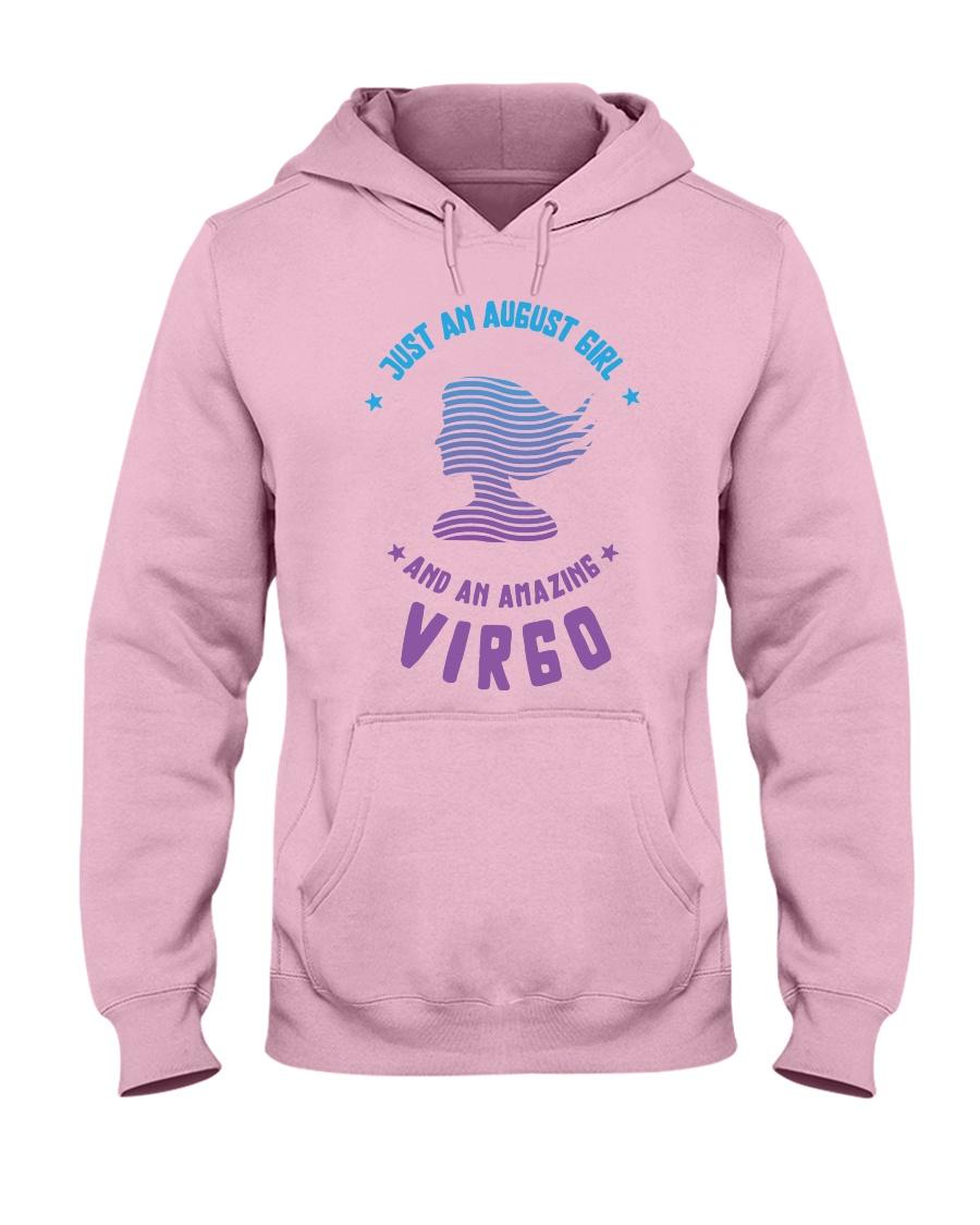 August Girl an Amazing Virgo Hooded Sweatshirt
