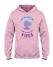 August Girl an Amazing Virgo Hooded Sweatshirt thumbnail