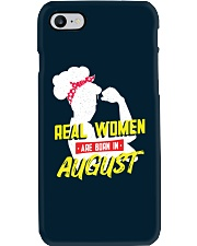 Real Women are Born in August Phone Case thumbnail