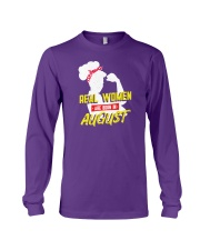 Real Women are Born in August Long Sleeve Tee thumbnail