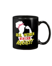 Real Women are Born in August Mug thumbnail