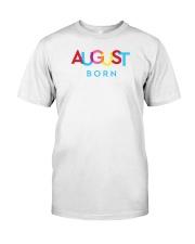 August Born Classic T-Shirt thumbnail