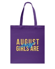 August Girls are Crazy Tote Bag thumbnail