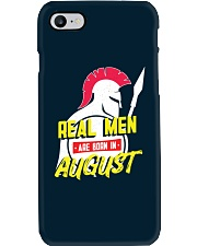 Real Men are Born in August Phone Case thumbnail