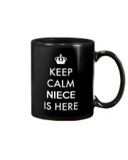 Keep Calm Niece Is Here Mug thumbnail