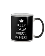 Keep Calm Niece Is Here Color Changing Mug thumbnail