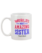 Personalized Gifts for Sister Mug back