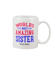 Personalized Gifts for Sister Mug front