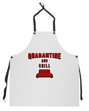 Quarantine and Chill Apron front