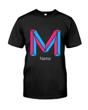 Modern Letter M Premium Fit Mens Tee thumbnail