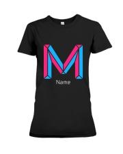 Modern Letter M Premium Fit Ladies Tee thumbnail