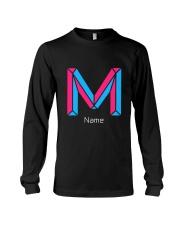 Modern Letter M Long Sleeve Tee thumbnail