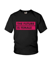 The Future Is Female Youth T-Shirt thumbnail