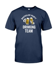 Bachelor Party Drinking Team Classic T-Shirt tile