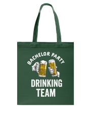 Bachelor Party Drinking Team Tote Bag thumbnail