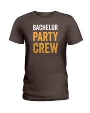 Bachelor Party Crew Ladies T-Shirt thumbnail