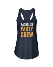 Bachelor Party Crew Ladies Flowy Tank thumbnail
