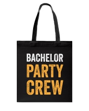 Bachelor Party Crew Tote Bag thumbnail