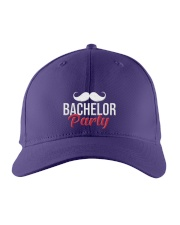 Bachelor Party Embroidered Hat front