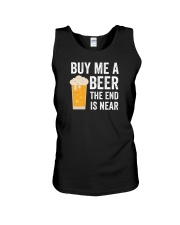 Buy Me a Beer the End is Near Unisex Tank thumbnail