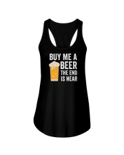Buy Me a Beer the End is Near Ladies Flowy Tank thumbnail