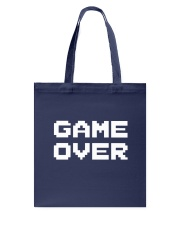 Game Over I'm Engaged Tote Bag thumbnail