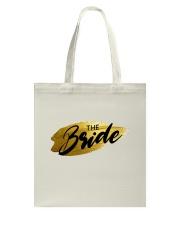 The Bride Tote Bag back