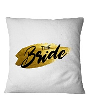 The Bride Square Pillowcase thumbnail