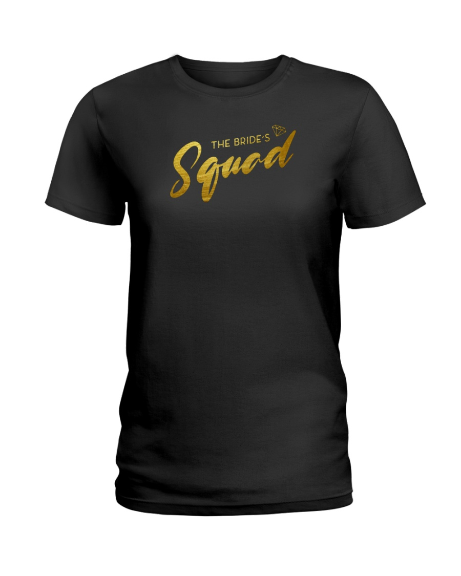 Bride's Squad Ladies T-Shirt