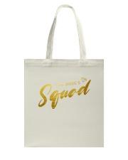 Bride's Squad Tote Bag back