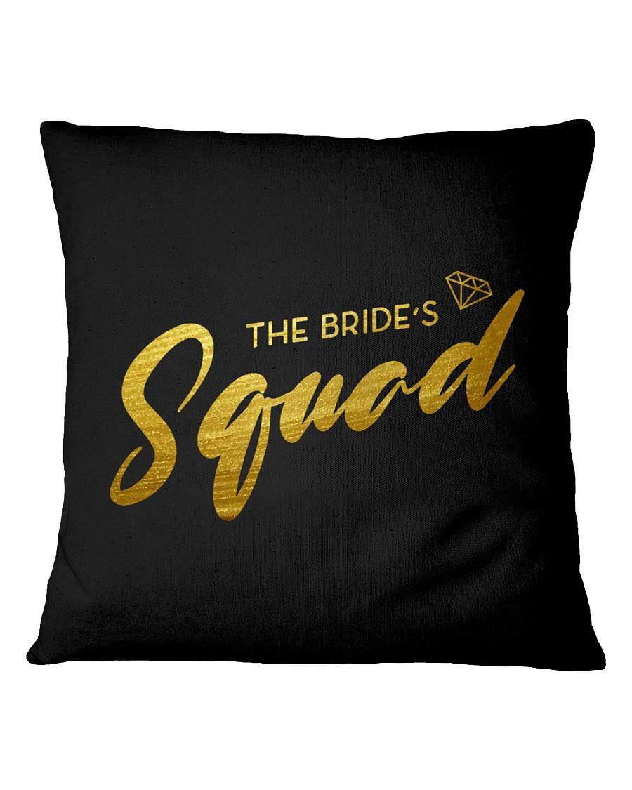 Bride's Squad Square Pillowcase
