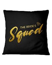 Bride's Squad Square Pillowcase thumbnail