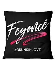 Feyonce Square Pillowcase back