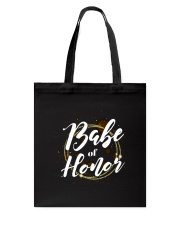 Babe of Honor Tote Bag back