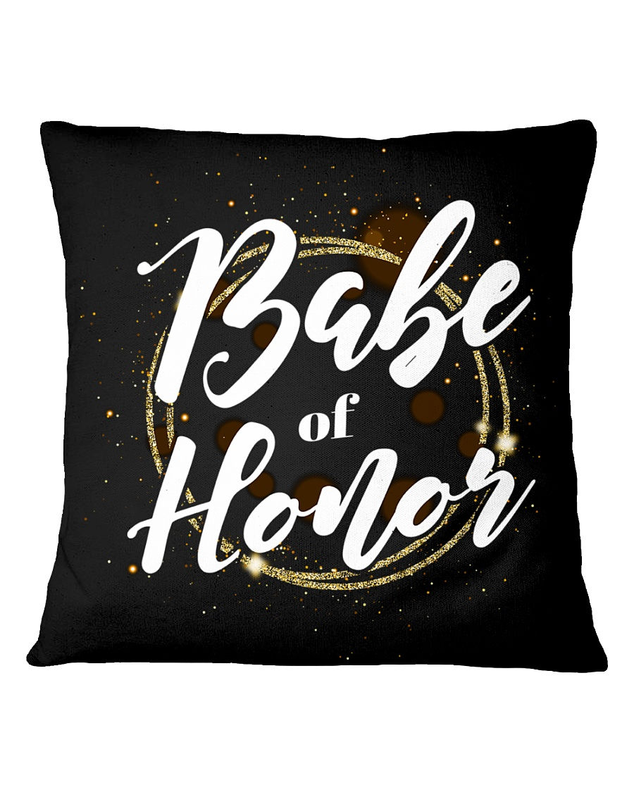 Babe of Honor Square Pillowcase