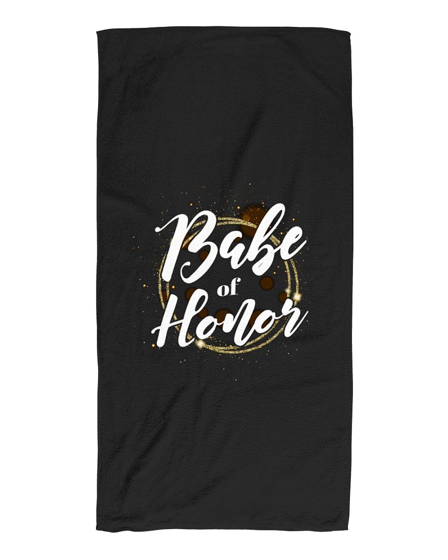 Babe of Honor Beach Towel