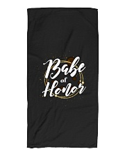 Babe of Honor Beach Towel tile